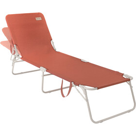 Outwell Tenby Lounger, warm red